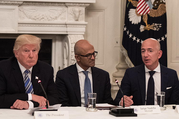 Amazon to appeal over cloud contract between Pentagon and Microsoft