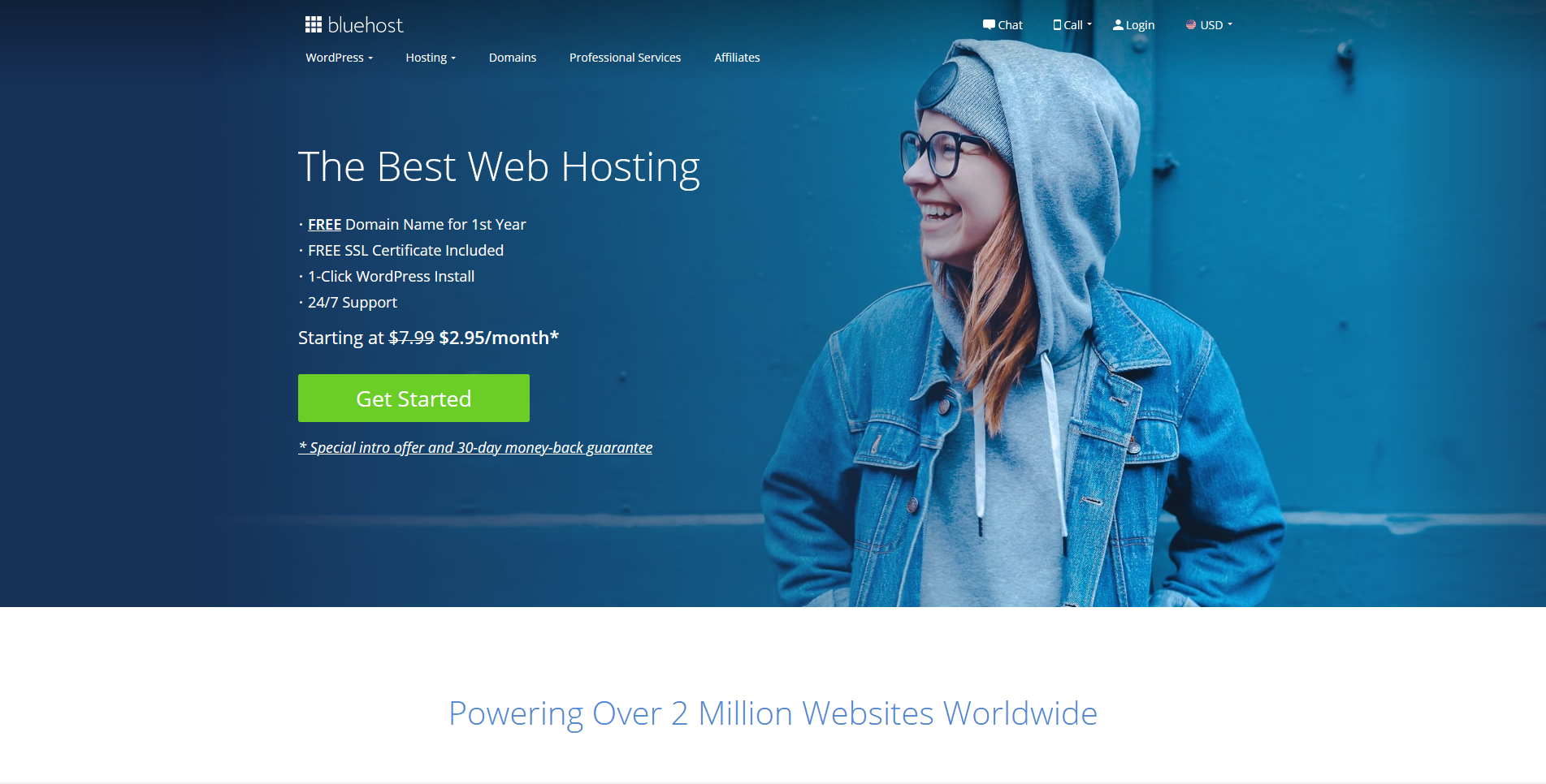 Bluehost Managed Web Hosting