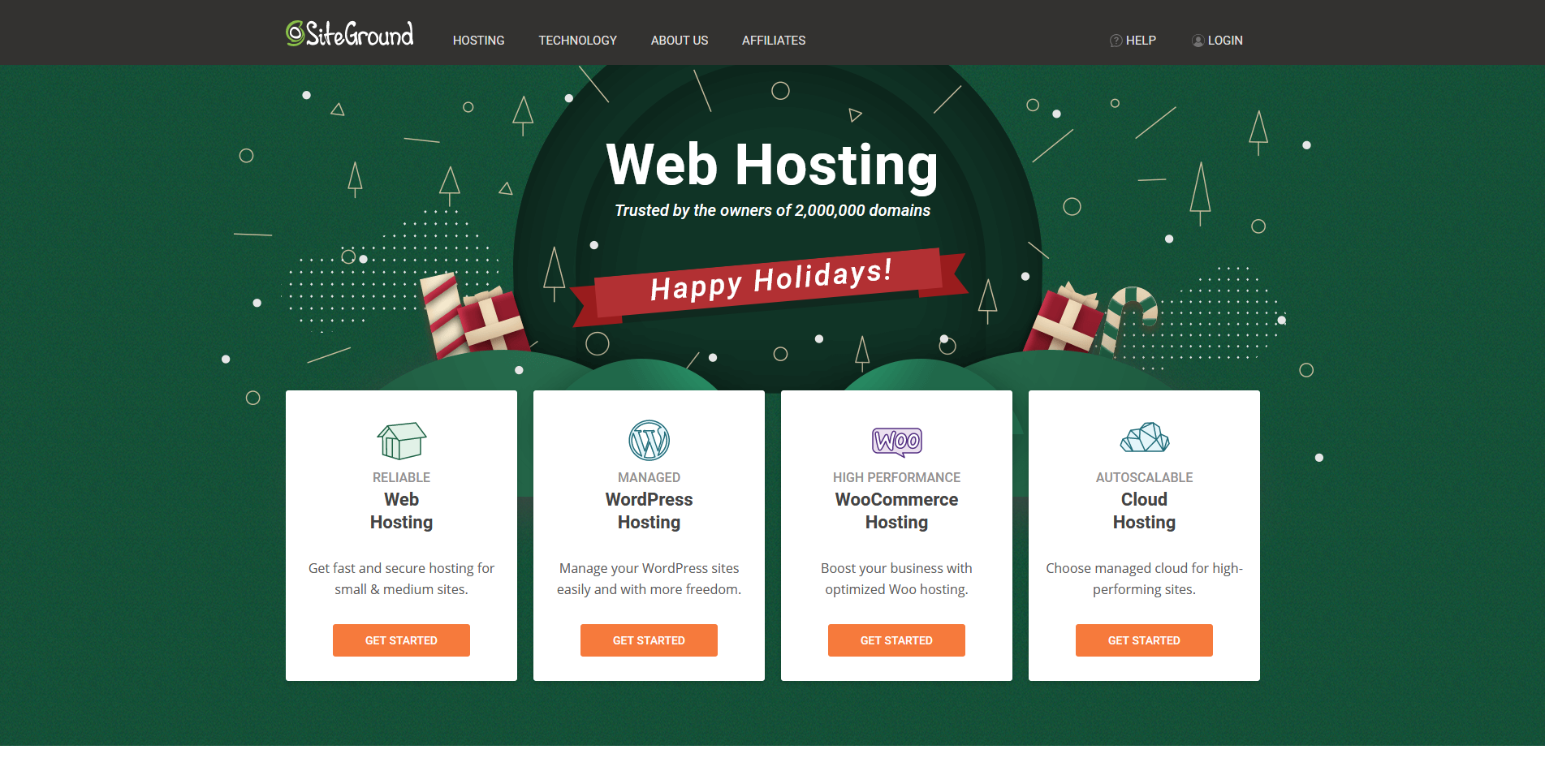 SiteGround Managed Web Hosting