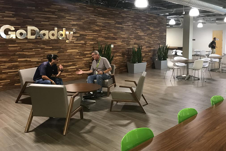 Man arrested for making threats to GoDaddy office