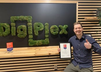 DigiPlex has been certified as a 'Great Place to Work'