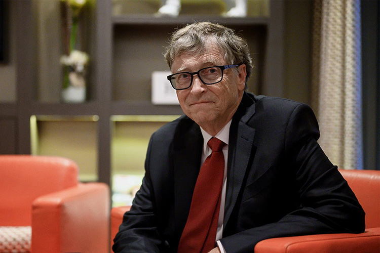 Bill Gates stepped down from Microsoft and Berkshire Hathaway boards