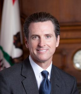 California's Governor, Gavin Newsom