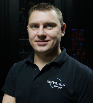 Sergey Petukhin, head of the connectivity infrastructure, Serverius