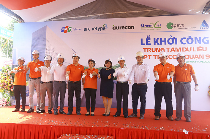FPT Telecom started to work on a new facility in Vietnam