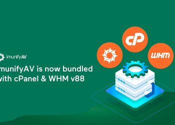ImunifyAV becomes the default antivirus solution of cPanel & WHM v88
