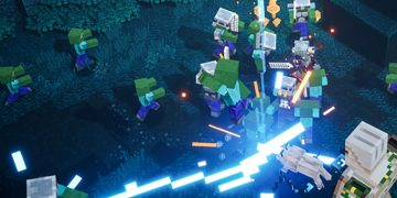 Minecraft Dungeons comes out on 26 May