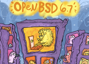 OpenBSD 6.7 is out!