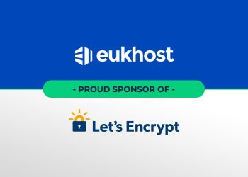 eukhost announced its sponsorship of Let's Encrypt