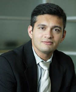 Ash Kulkarni, executive vice president and chief product officer of the enterprise business group at McAfee