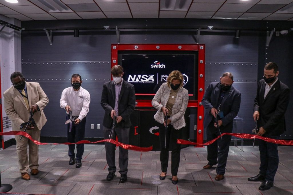 NNSA Administrator and DOE Under Secretary for Nuclear Security Lisa E. Gordon-Hagerty unveiled of the ECN while visiting the Nevada National Security Site (NNSS).
