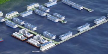 Keppel DC's Floating Data Center Park will be powered by hydrogen and natural gas
