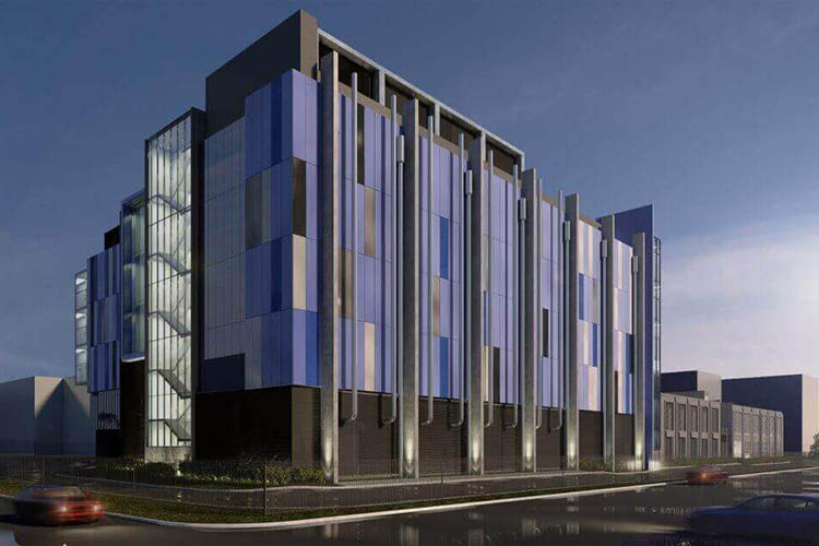 Macquarie Data Centers completes the structural build of Intellicentre 3