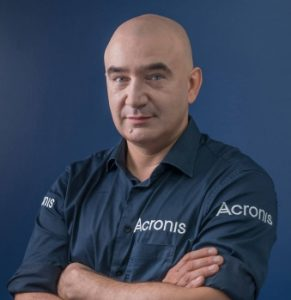 """Serguei """"SB"""" Beloussov, founder and CEO of Acronis,"""