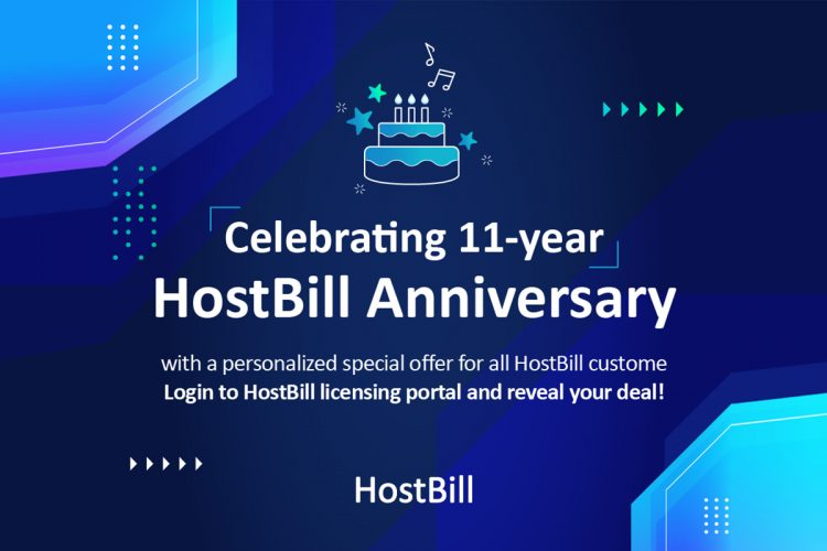 HostBill celebrates 11th anniversary with special deals