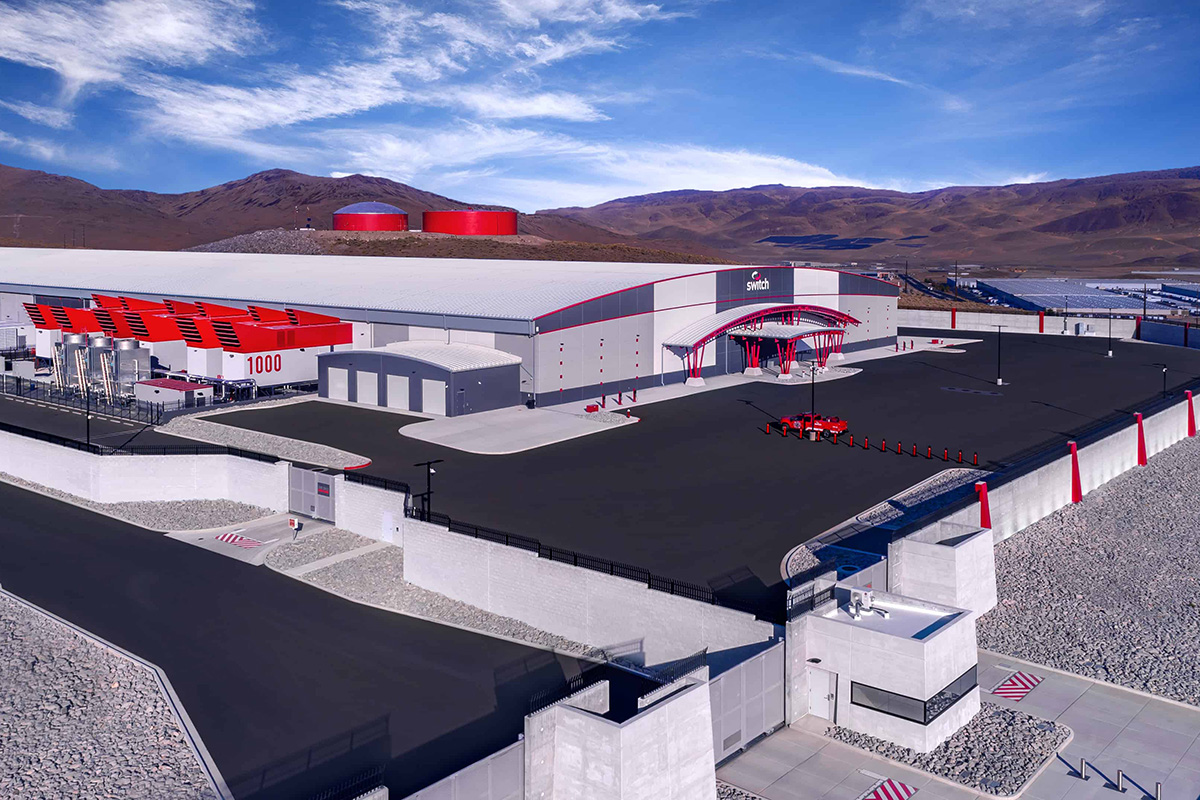 Switch announced multi-megawatt expansions with global e-commerce and semiconductor clients