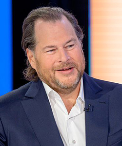 Marc Benioff, Chair and CEO, Salesforce