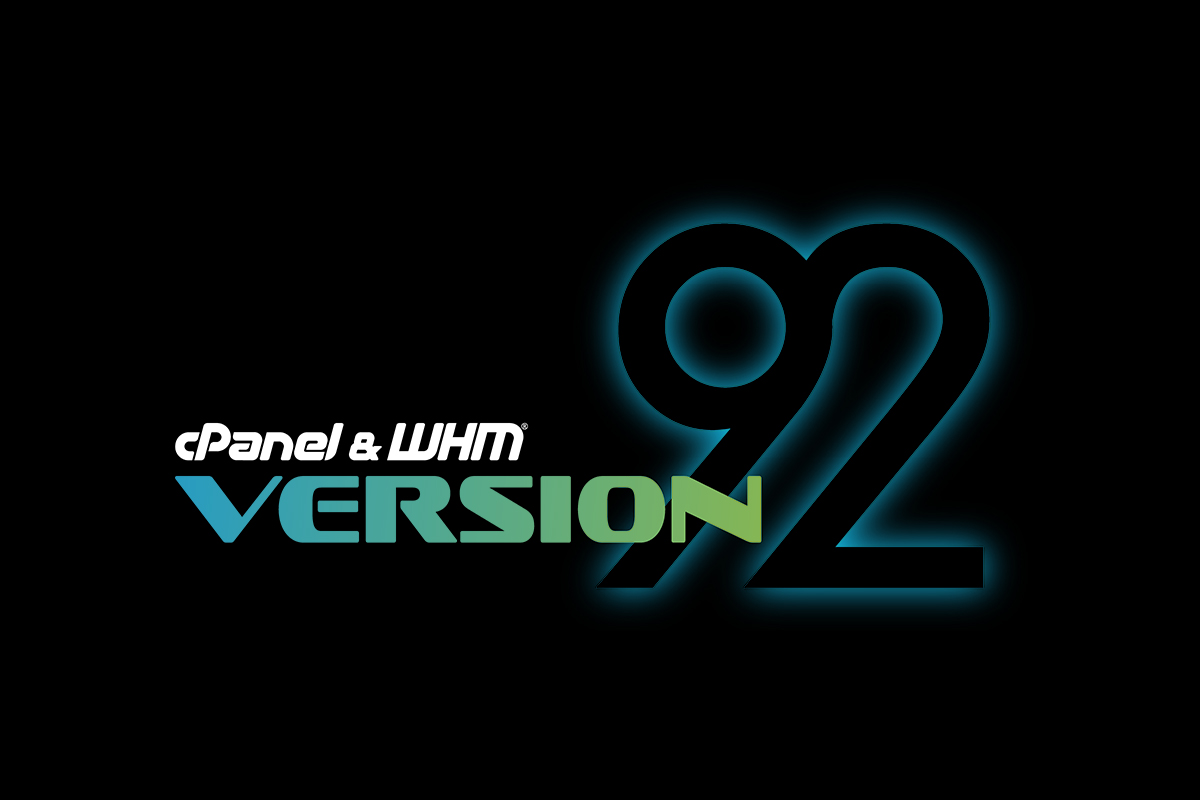 cPanel & WHM Version 92 released to RELEASE tier