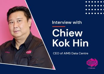 Interview: Chiew Kok Hin, CEO of AIMS Data Centre