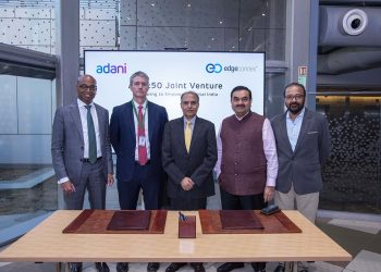 AdaniConneX, a new data center joint venture formed between Adani Enterprises and EdgeConneX
