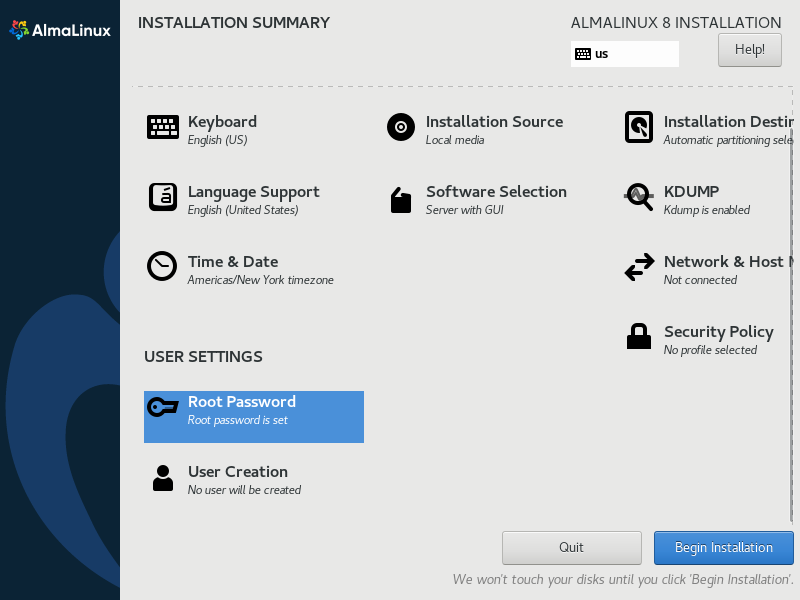 How to install Almalinux 11
