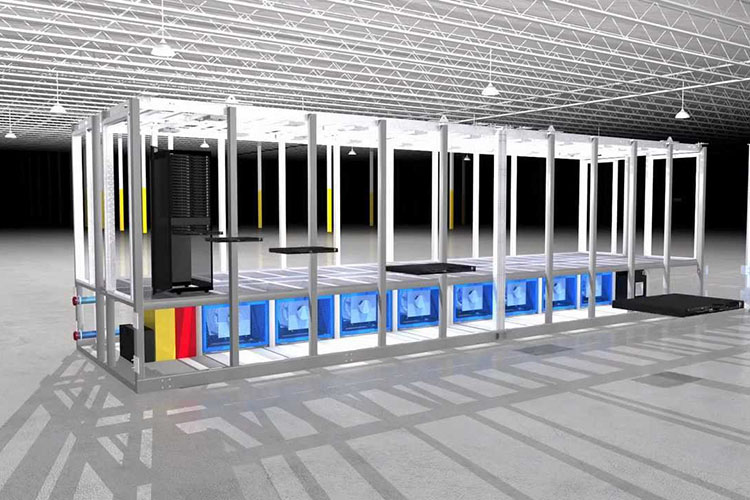 The demand for rapidly deployable modular data center is on the rise
