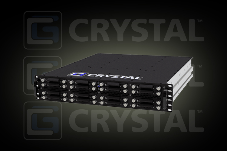 Crystal Group introduced PCIe Gen4-enabled rugged servers