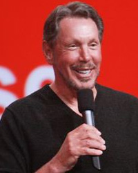 Larry Ellison, Oracle Chairman of the Board and Chief Technology Officer