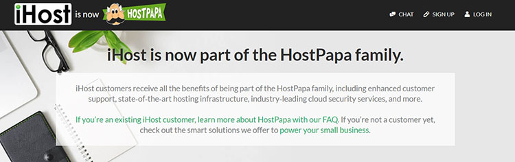 iHost Networks published an announcement about the acquisition