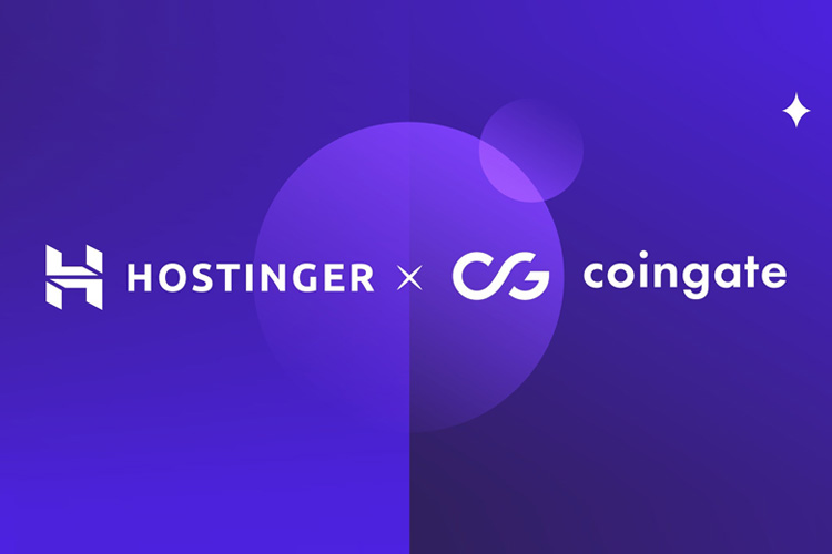 Hostinger accepts cryptocurrency via CoinGate