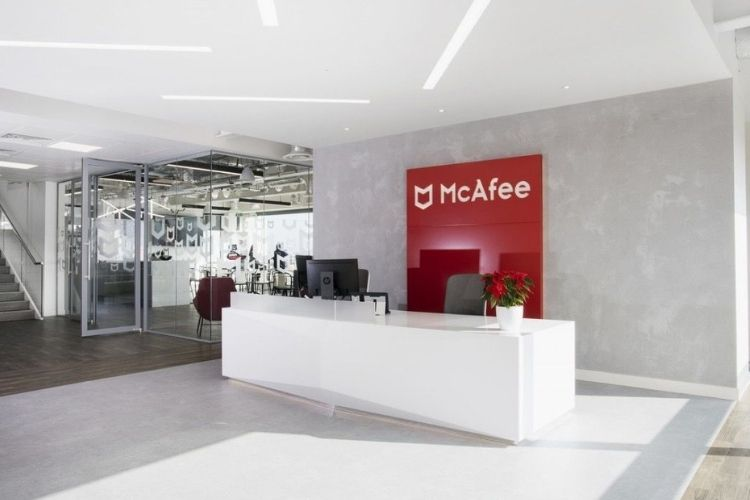 McAfee announces quarterly financial results