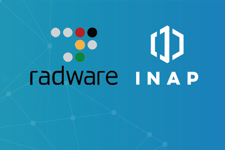 Radware and INAP to provide cloud web application security and DDoS protection