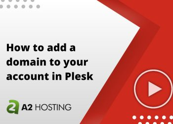 How to add a domain to your account in Plesk