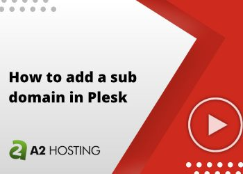 How to add a sub domain in Plesk