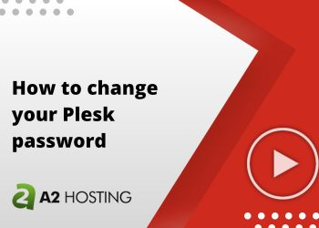 How to change your Plesk password