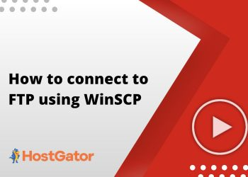 How to connect to FTP using WinSCP
