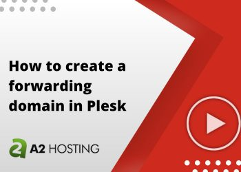 How to create a forwarding domain in Plesk