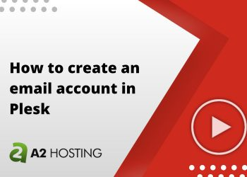 How to create an email account in Plesk