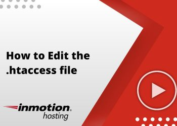 How to edit the .htaccess file