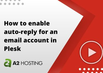 How to enable auto-reply for an email account in Plesk