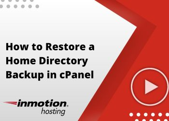 How to Restore a Home Directory Backup in cPanel