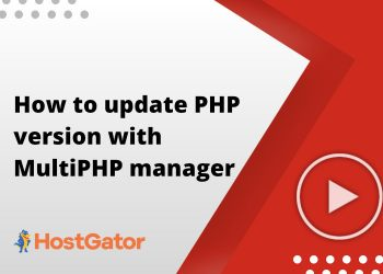 How to update PHP version with MultiPHP manager